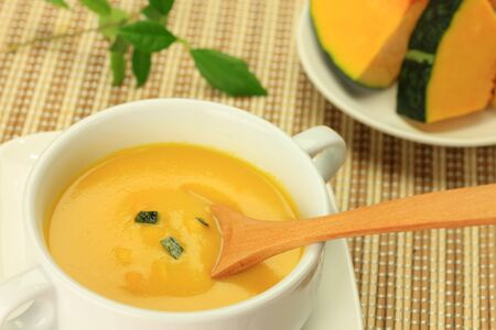 potage: pumpkin soup