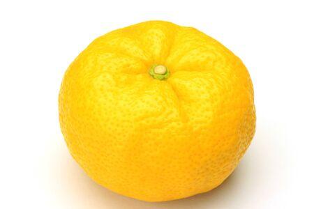これは柚子です。
