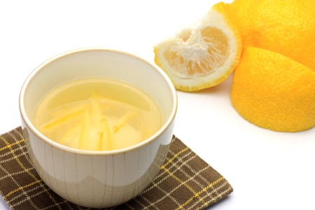 これは、柚子茶です。