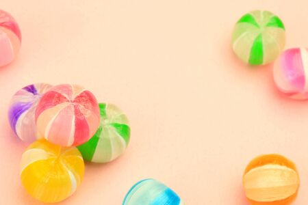 confetto: This is Japanese candy. These candy is colorful and are beautiful.