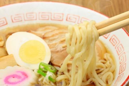 這就是所謂的拉麵與中國菜 版權商用圖片