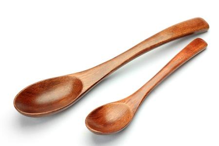 これらは、木製のスプーンです。 写真素材