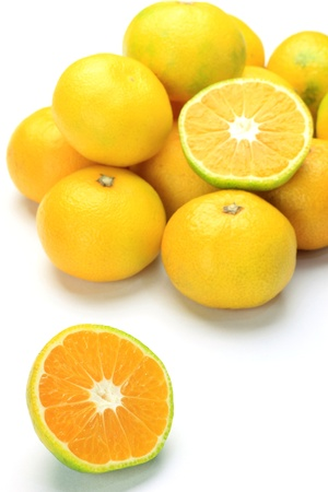 plural number: These are Japanese premature delivery mandarin oranges
