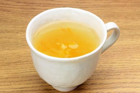Questo si chiama yuzucya con bevanda giapponese
