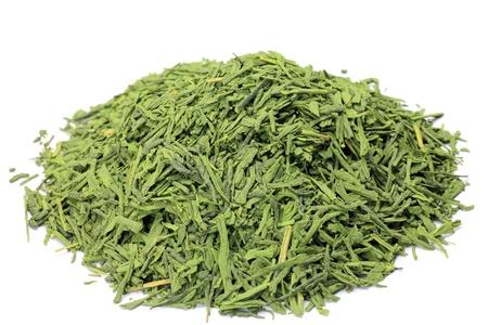 これは日本茶粉緑茶が覆われていると茶葉