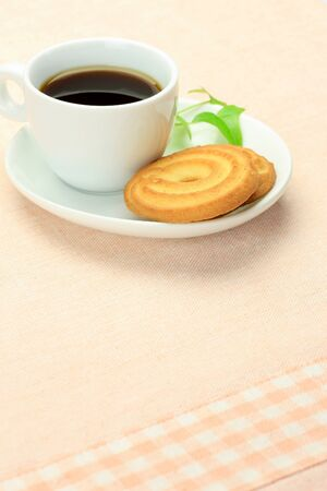expressed: I expressed teatime with coffee and a cookie.
