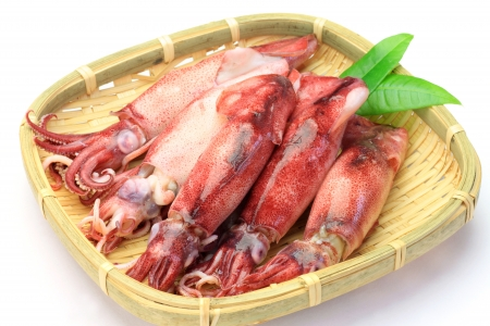 fishery products: These are the cuttlefishs which I boiled.