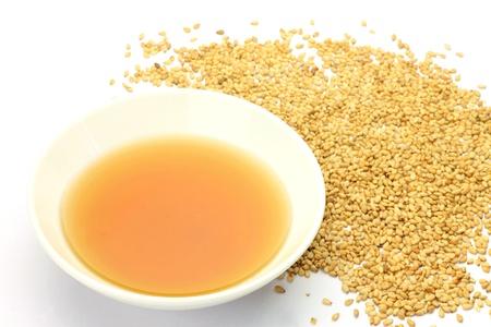 This is sesame and sesame oil. 版權商用圖片