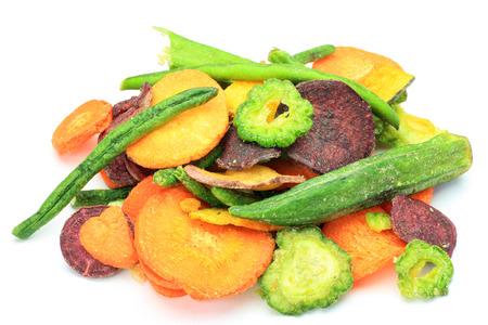 野菜チップ 写真素材