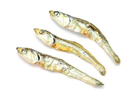 sardines: dried small sardines
