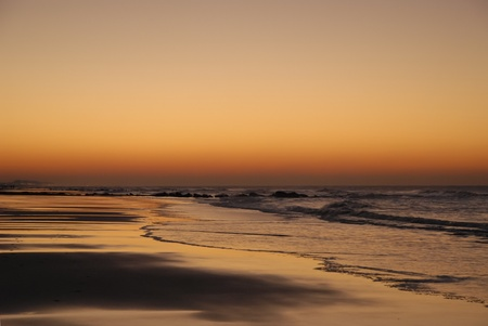 belgique: beach sunset, romantic and peaceful atmosphere