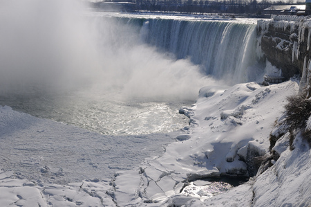 horseshoe falls: Canadian Horseshoe Falls LANG_EVOIMAGES
