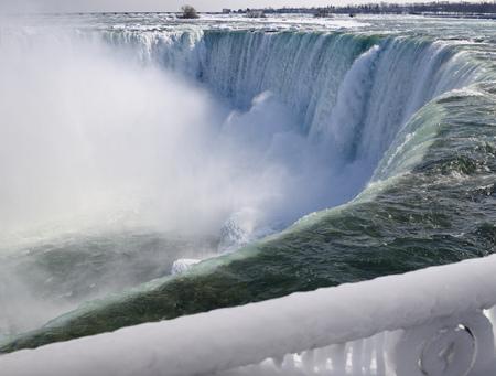 horseshoe falls: View of Canadian Horseshoe Falls LANG_EVOIMAGES