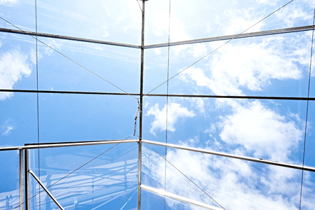 glass ceiling: glass ceiling glasshouse