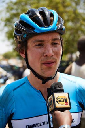 Embrace the World Cycling at Tour du Senegal 2017 Julian Hellmann