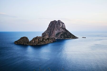 vedra: Es Vedra at sunset, Ibiza, Spain