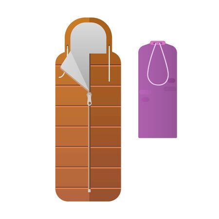 sleeping bags: The colorful sleeping bags