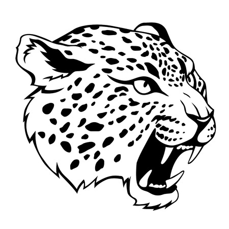 Stylized jaguar Vector