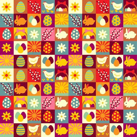Ostern nahtlose Muster für Ihr Design und Dekoration