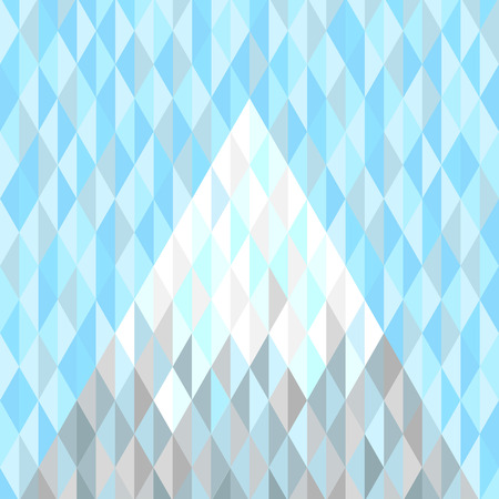 peak: Snow covered peak of a mountain. Abstract geometric background