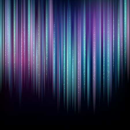 northern light: Vertical Northern lights on dark blue. Abstract background for your design