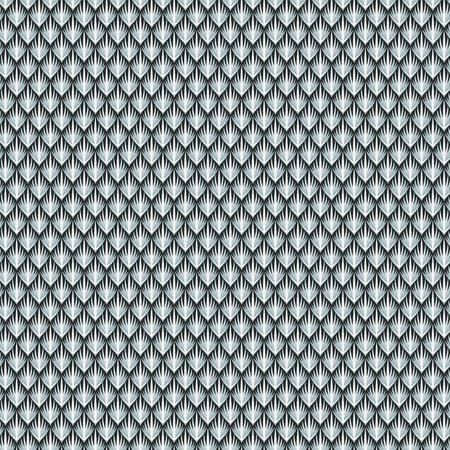 python skin: The scales of the grey reptile. Abstract seamless pattern for your design Illustration