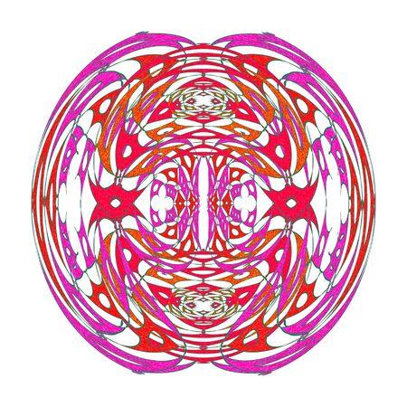 fish form: Symmetrical circles