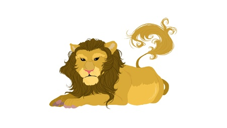 Leo is the sign of the zodiac  photo