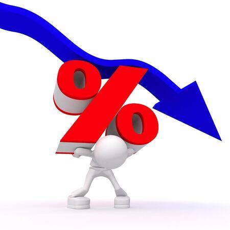 crisis disturbs to pay percent