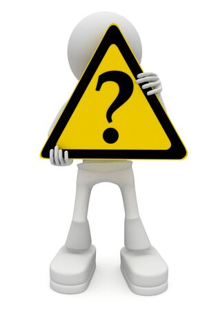 Important question Stock Photo - 7644107