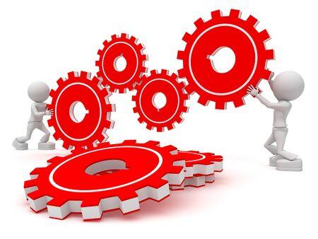 3ds: work together