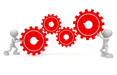 work together: samenwerken
