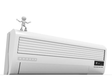 intake: Conditioner Stock Photo