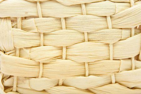 Close up basket weave background Stock Photo