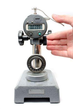 Measuring Equipment Digital Test Gauge Measuring Bearing Isolated