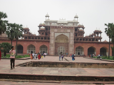 Full Front view of Sikandra