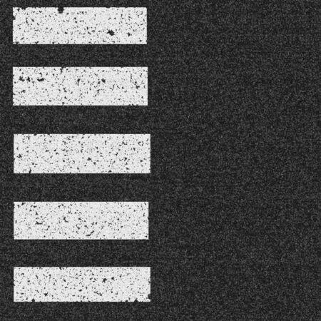 paso de cebra: asfalto con paso de peatones Foto de archivo