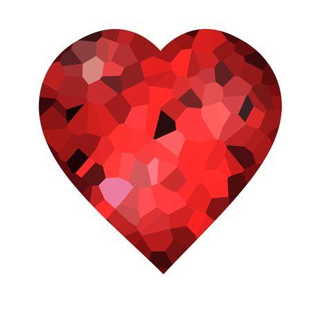 mosaic heart Stock Photo - 5081283