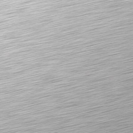 brushed aluminium: stained metal Stock Photo