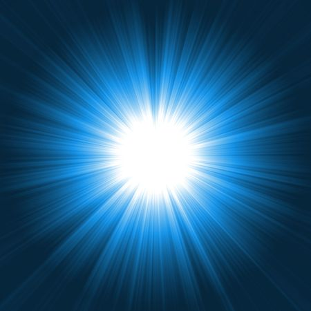 shiny light burst