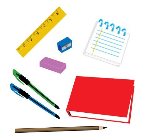 school supplies Stock Vector - 5132744