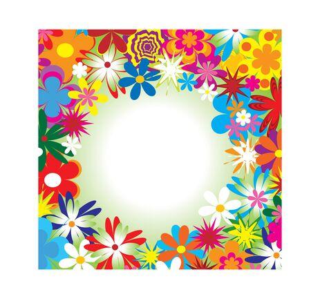 floral frame Stock Vector - 5146870