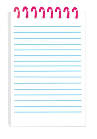 notepad Stock Vector - 5236540