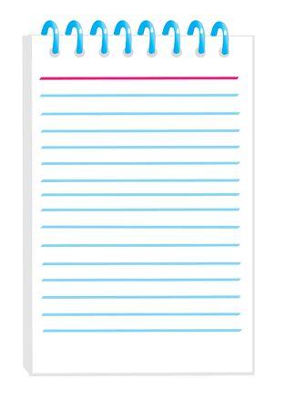 notepad Stock Vector - 5291240
