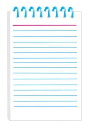 notepad Stock Vector - 5291240