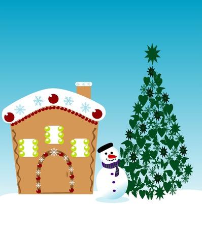 snowman Stock Vector - 5802513