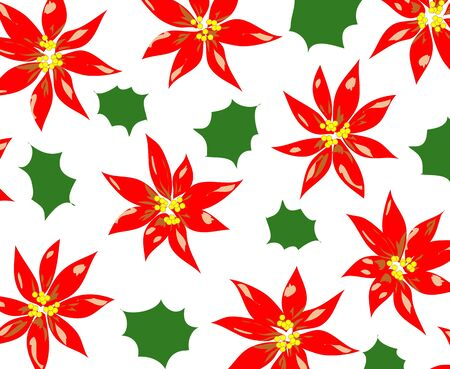 poinsettia background