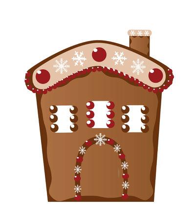 ginger house Stock Vector - 5955769
