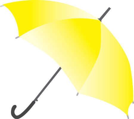 yellow umbrella: yellow umbrella