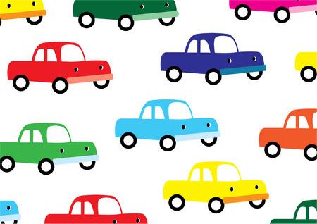 Toy-Auto-Hintergrund  Vektorgrafik